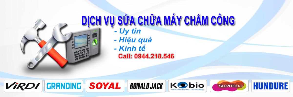 Banner sua chua may cham cong