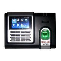 máy chấm công vân tay thẻ cảm ứng Ronald Jack 3979