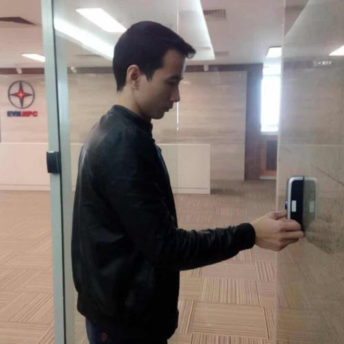 Lắp đặt hệ thống máy chấm công Superma kết nối với Smart Tivi Sony cho Tập đoàn điện lực Việt Nam (EVN)