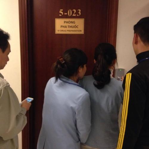 Triển khai lắp đặt hệ thống 15 cửa kiểm soát ra vào Soyal 721H cho các phòng pha chế thuốc tại bệnh viện quốc tế VinMec – Timecity