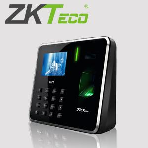 TIN NHANH – Máy chấm công vân tay ZKteco K21