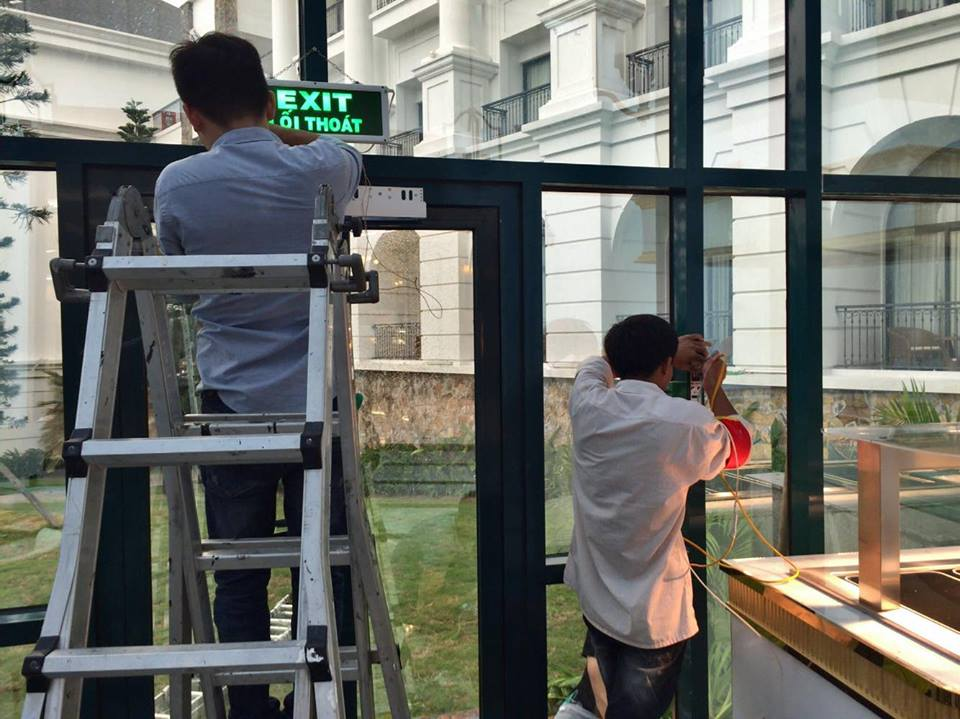 Lắp đặt hệ thống chấm công – kiểm soát cửa ra vào cho khu nghỉ dưỡng Vinpearl Hạ Long Resort