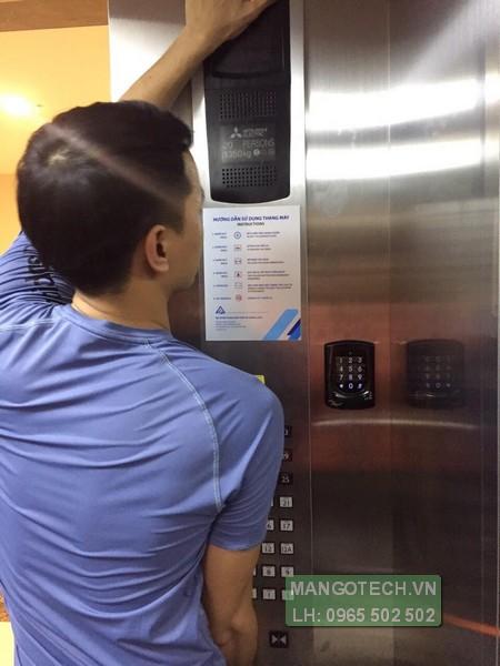 Lắp đặt thiết bị kiểm soát thang máy tại chung cư 50 tầng Landmark 105 Văn Khê Hà Đông