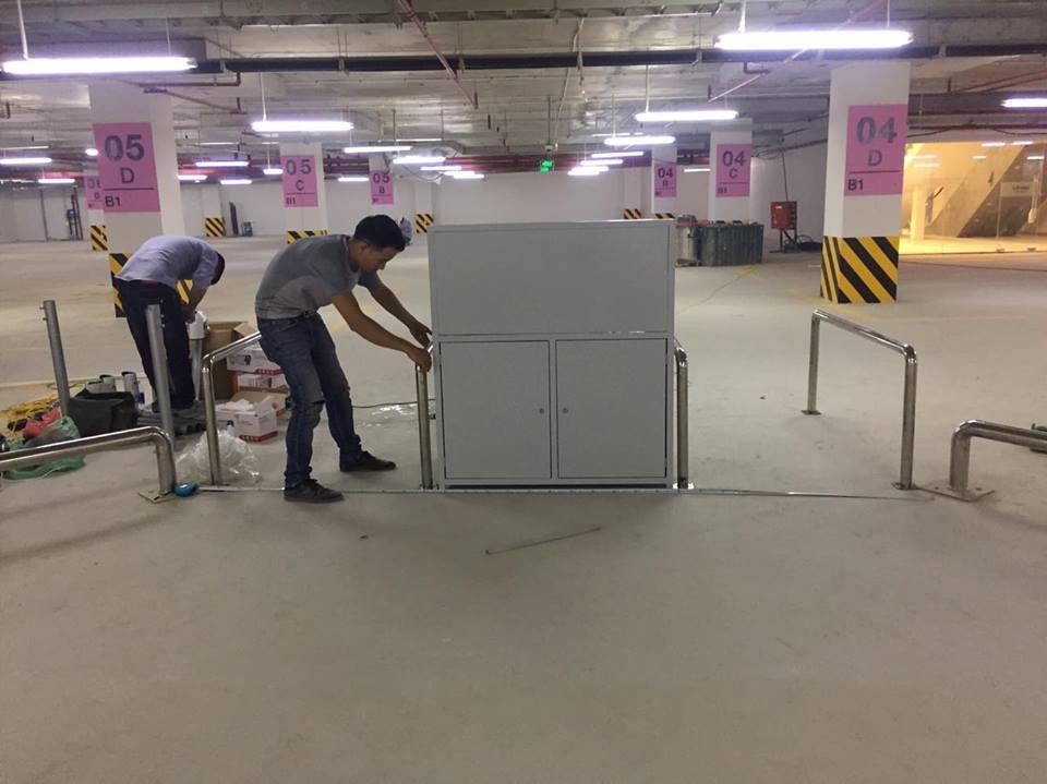 Triển khai lắp đặt hệ thống kiểm soát bãi đỗ xe & Kiểm soát cửa ra vào trung tâm thương mại Vincom Thái Nguyên