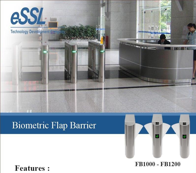 Giới thiệu cổng an ninh phân làn Flap Barier FB1000