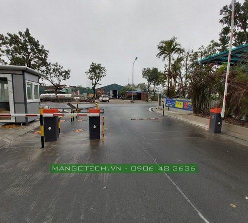 Lắp đặt bãi gửi xe thông minh chụp ảnh tự động tại chung cư Ruby City CT3 Long Biên