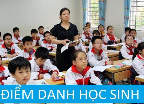 Giải pháp điểm danh học sinh, sinh viên bằng vân tay