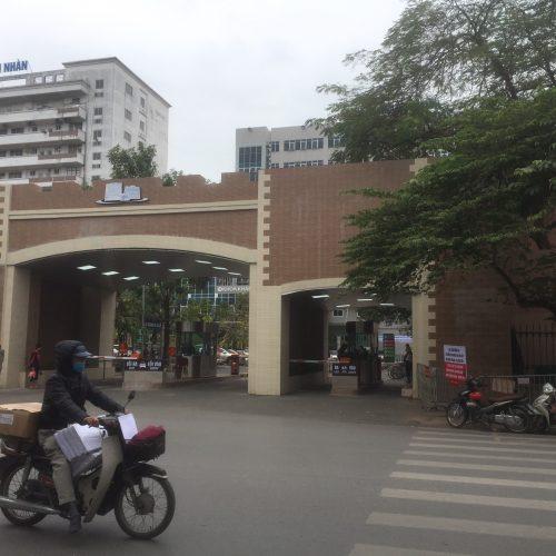 Triển khai hệ thống soát vé xe tại Bệnh viện Thanh Nhàn