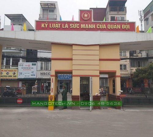 Triển khai hệ thống kiểm soát xe ra vào cổng tại Doanh Trại Quân Đội Nhân Dân Việt Nam